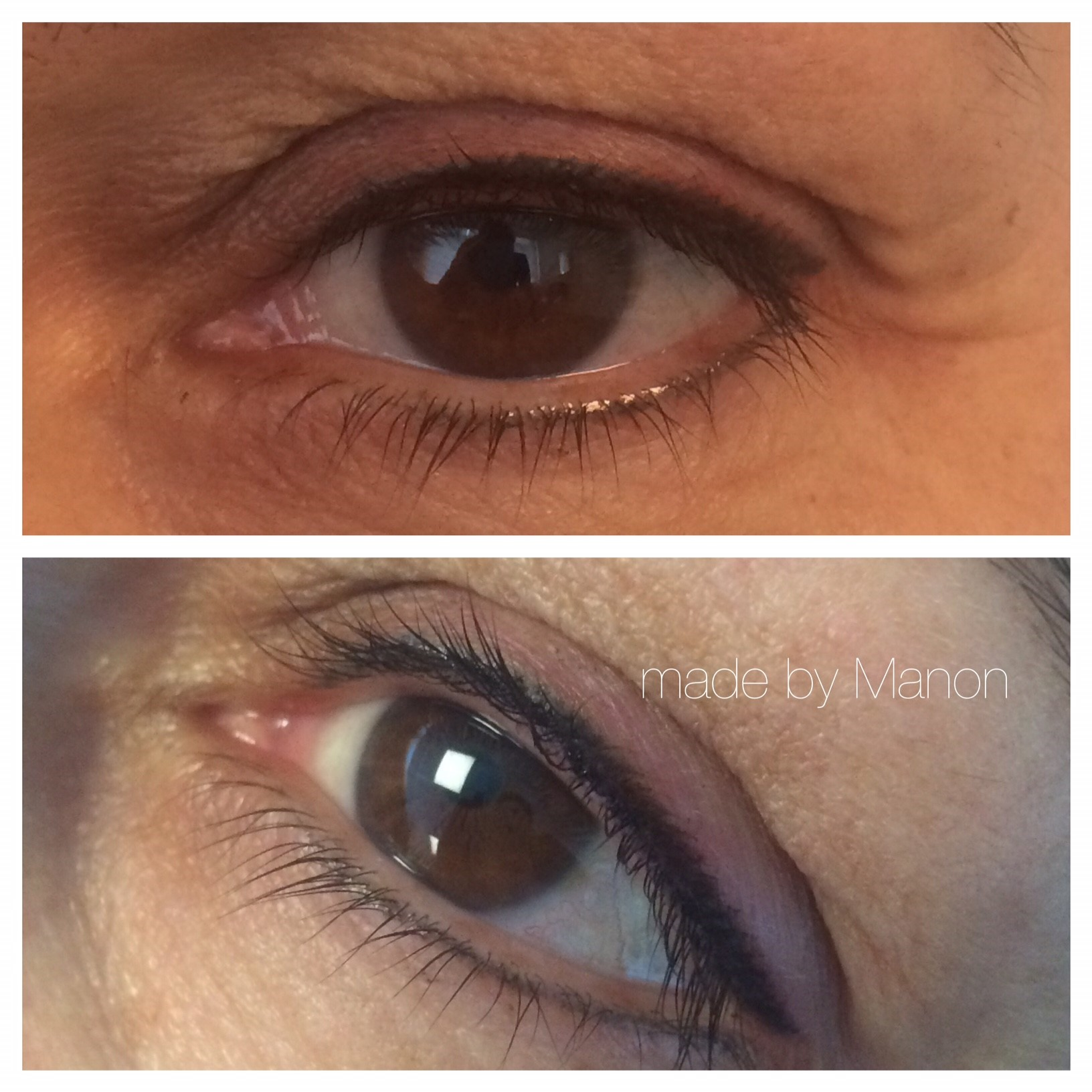 eyeliner permanente make-up. beauty lounge Haarlem