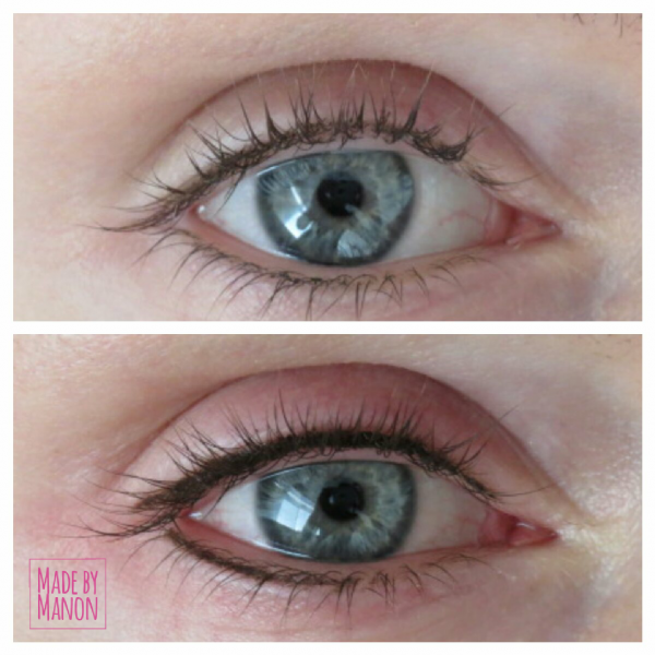 eyeliner permanente make-up voor en na beauty lounge
