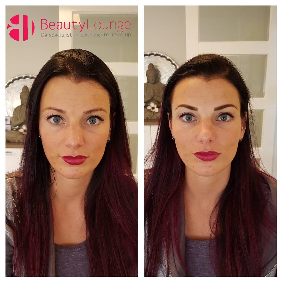 foto mooie permanente make-up meest natuurlijk 3d