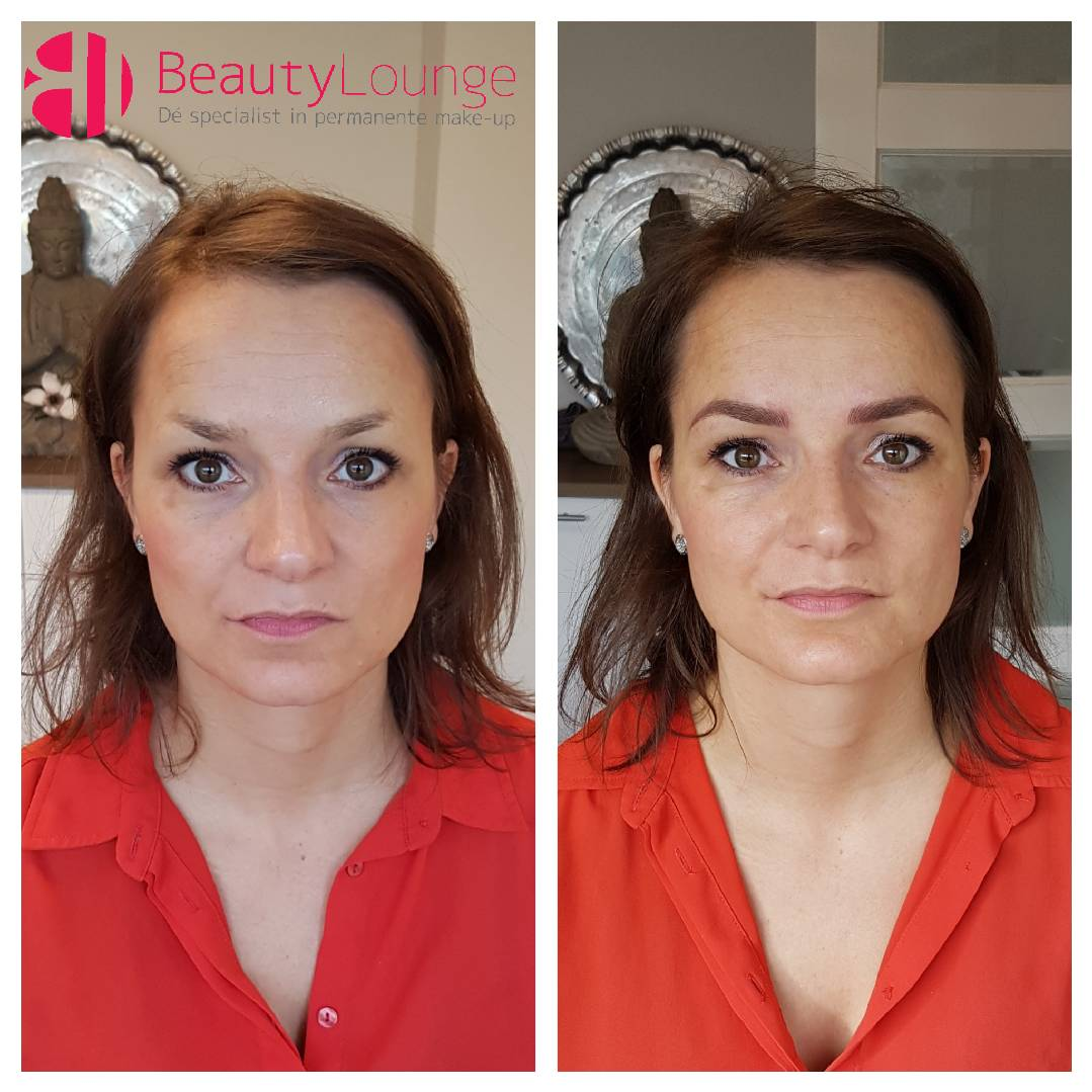 permanente mooiste make up wenkbrauwen gezicht natuurlijk.